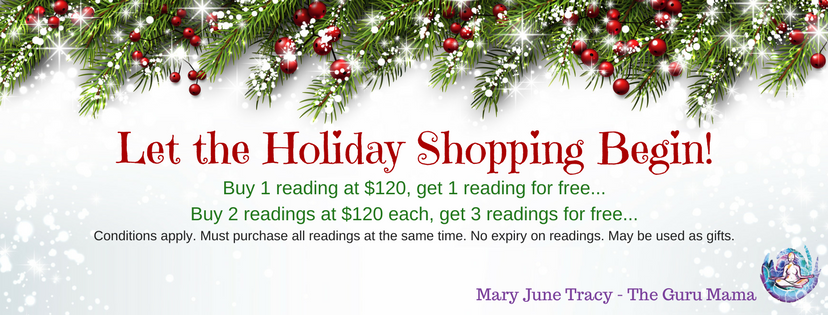 Special Holiday Pricing on Readings