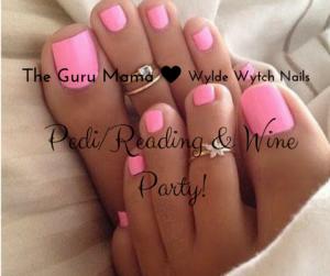 Pedi%2FReading & Wine Party!